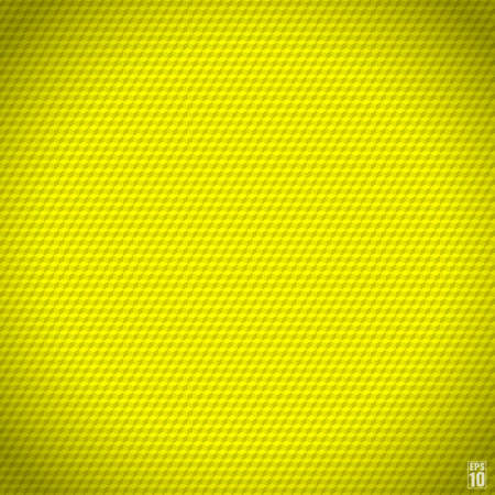 Yellow seamless cubic texture.