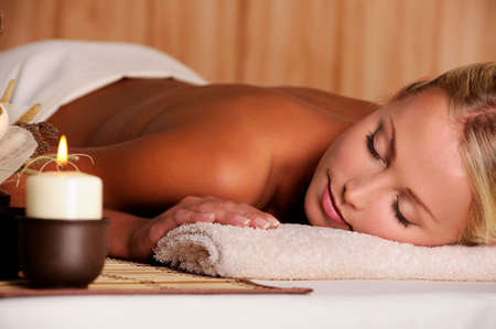 Dayspa for young beauty fresh female Stock Photo