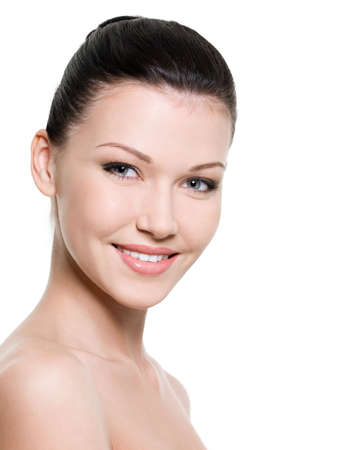 Portrait of beautiful smiling woman with healthy skin Stock Photo - 6808891
