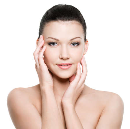 Portrait of young beautiful woman with healthy skin Stock Photo - 7337507