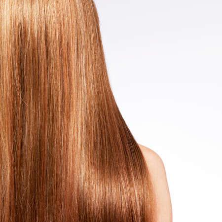 capelli LISCI: Vista posteriore della donna con i capelli lunghi - Monolocale