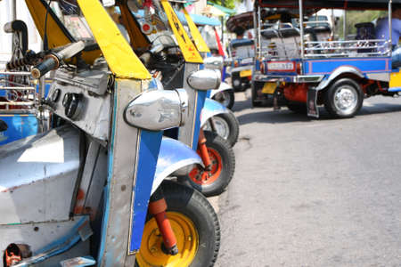 Tuk tuk , Thai taxi photo