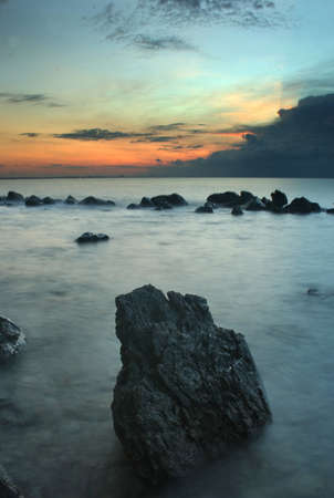 The stones in morning, Thailand Stock Photo - 7993513