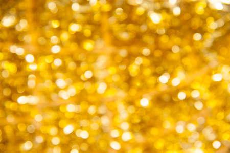 Onscherpe achtergrond gouden bokeh onscherp