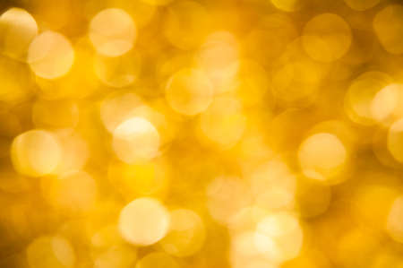Background blur gold bokeh out of focus