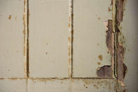 Uitstekende blauwe houten textuur met crack Stockfoto - 66419546