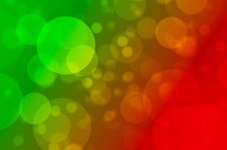 Defocused Christmas lights bokeh background
