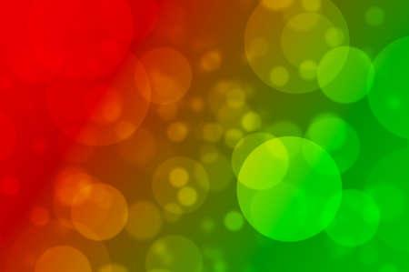 Defocused Christmas lights bokeh