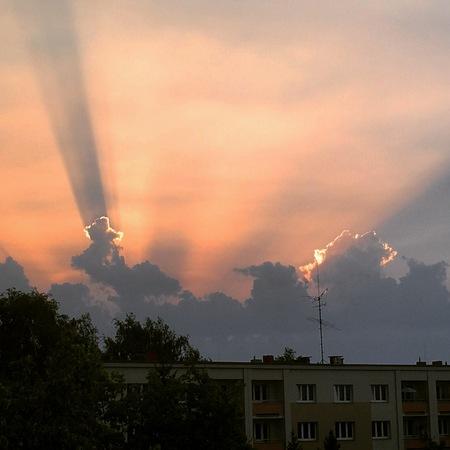 Sundown in the Havirov Redakční