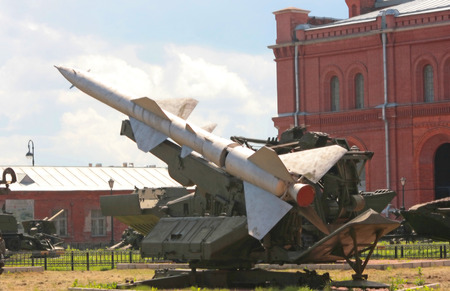 Military Rocket installation is created in Russia Stock Photo - 1456697