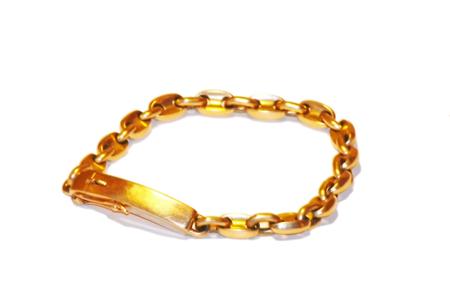 My gold bracelet of 50 gramme photo