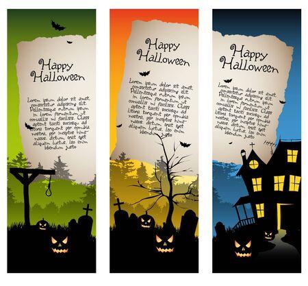 vertical banner: Halloween vertical banners