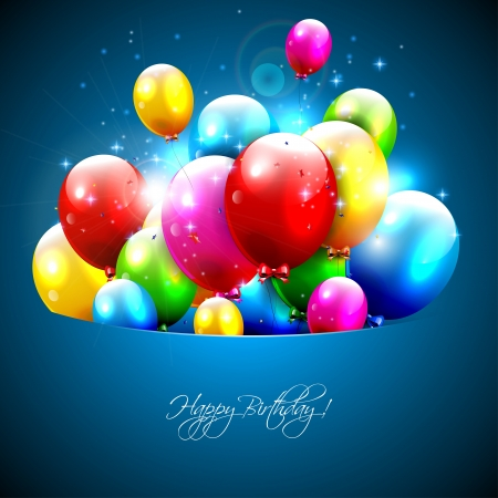 Colorful balloons flying out of pocket  Stock Vector - 17544738