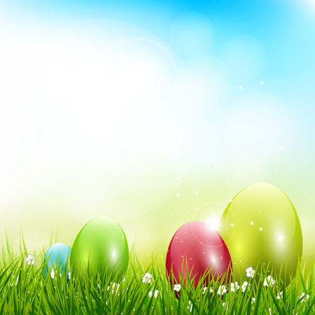 Easter background Stock Vector - 17506813