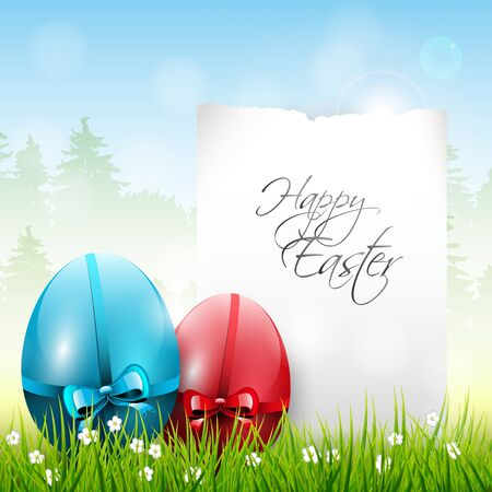 Easter colorful background  Stock Vector - 17506806