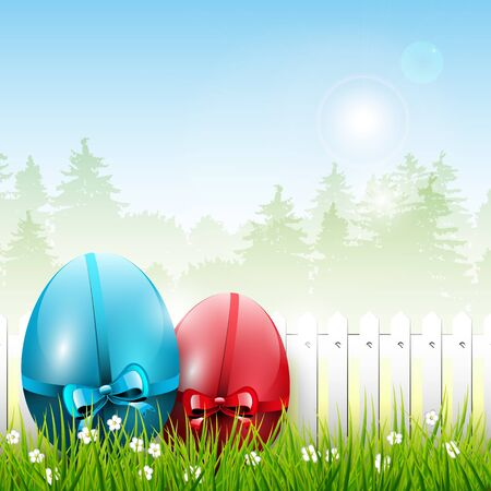 Easter colorful background Stock Vector - 17506812