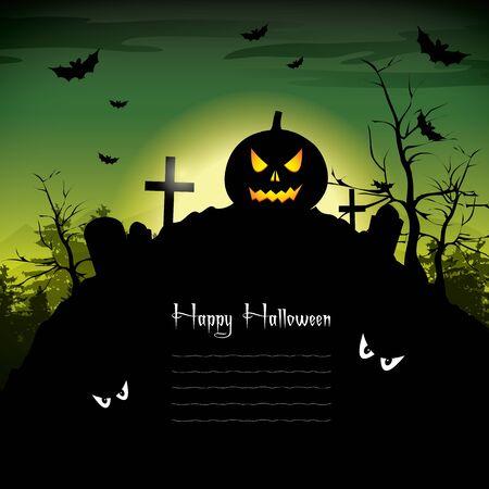 Halloween Background Stock Vector - 17675983