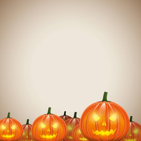 Halloween paper - background with place for text Vector