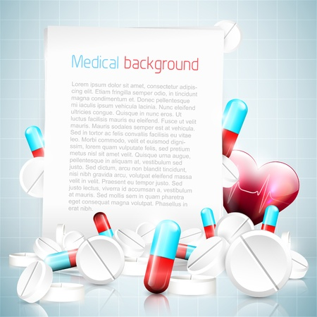 group therapy: Modern medical background with copyspace