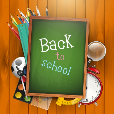Back to school Stock Vector - 18412845