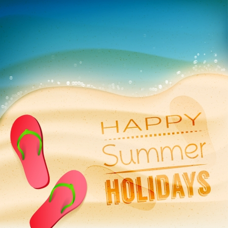 Summer holiday background Stock Vector - 20182682