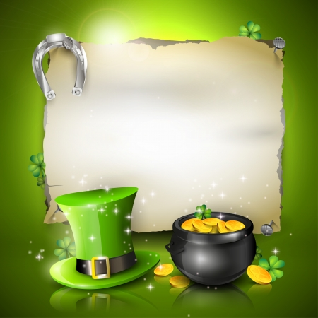 St  Patrick background Stock Vector - 25434263