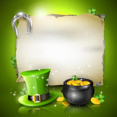 St  Patrick background Stock Vector - 25434263