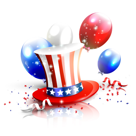 Independence day - luxury vector background   Vector