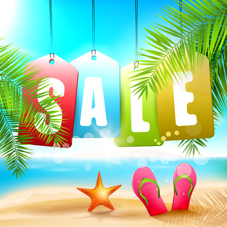 summer sale: Summer sale - creative design