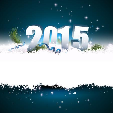 Nieuwjaar wenskaart met plaats voor uw tekst