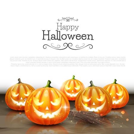 for text: Halloween sfondo con il posto per il testo Vettoriali