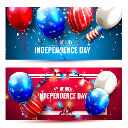 holiday party: Independence Day headers or banners