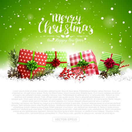 green lantern: Merry Christmas banner.