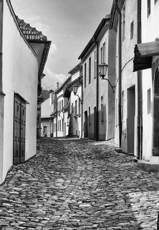 jewish town: Street in jewish town