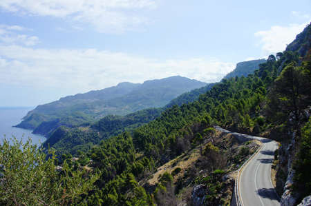 mallorca: Coastline Mallorca Stock Photo