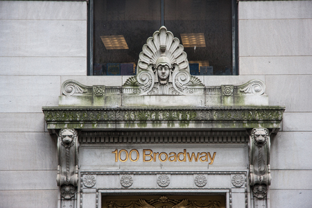 nyse: New York 100 Broadway street