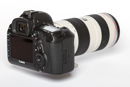 electronically: Canon 5D Mark IV camera, 30.4MP CMOS full-frame sensor with Dual Pixel AF and 4K video Editorial