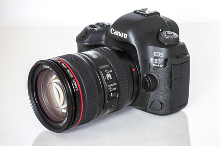 Canon 5D Mark IV camera, 30.4MP CMOS full-frame sensor with Dual Pixel AF and 4K video Editorial