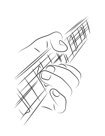 solo: Playing guitar