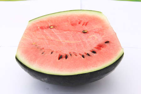 fresh slices of watermelon photo