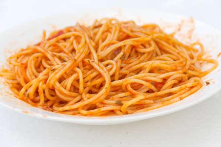 Traditional Italian spaghetti Awaiting validation