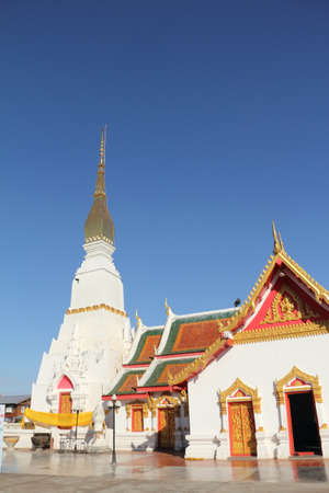 chum: Wat Phra That Choeng Chum,Thailand Editorial