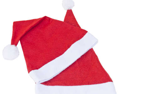 Xmas santa hat, isolated on white  Awaiting validation Stock Photo - 16930438