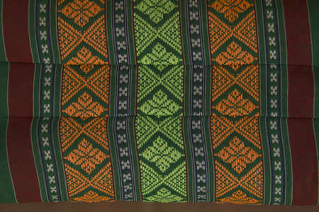 Pillow lace pattern with texture, in thailand photo