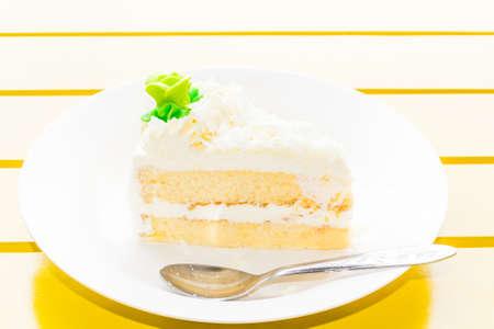 cake ice cream Stock Photo