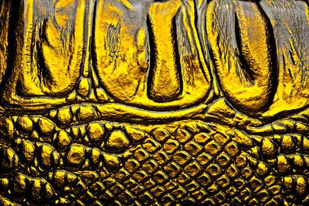 satined: Alligator patterned background