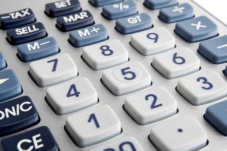 pragmatic: Closeup image of calculator keyboard