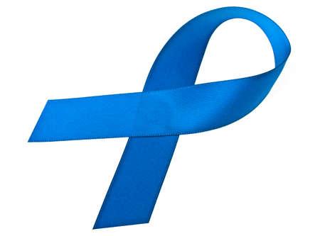 Blue ribbon in April