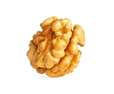 kernel: Kernel walnut isolated on a white background