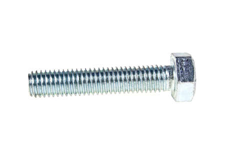 New bolt isolated on white background Stock Photo